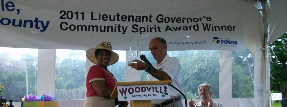 Lieutenant Governor's Community Spirit Award